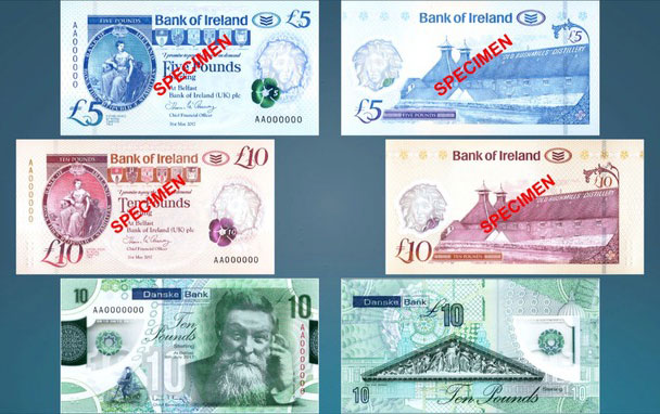 Northern Ireland New Polymer Banknotes